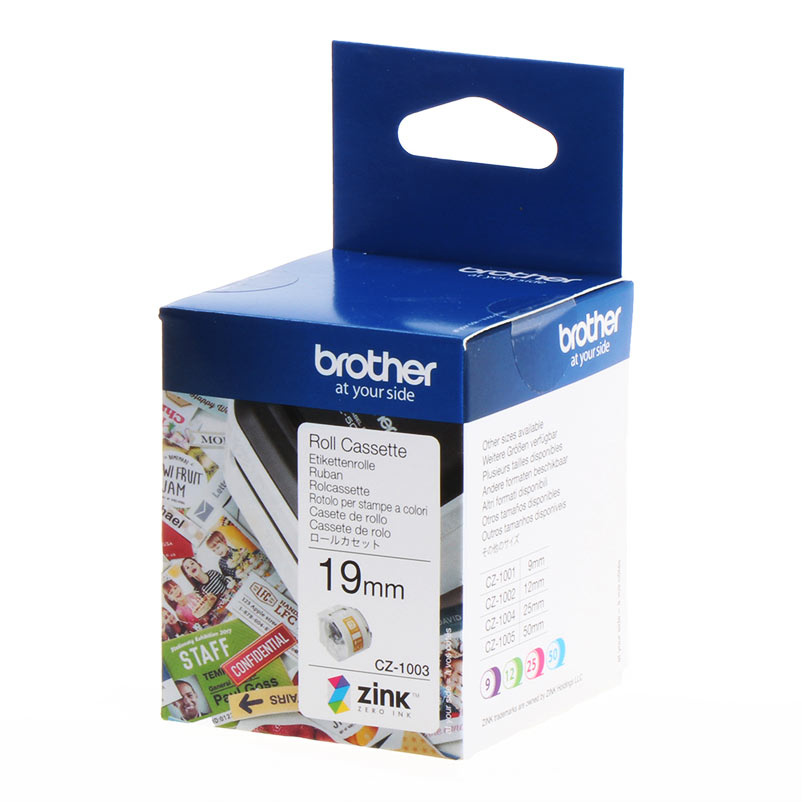 Brother Labels CZ1003 CZ-1003 white